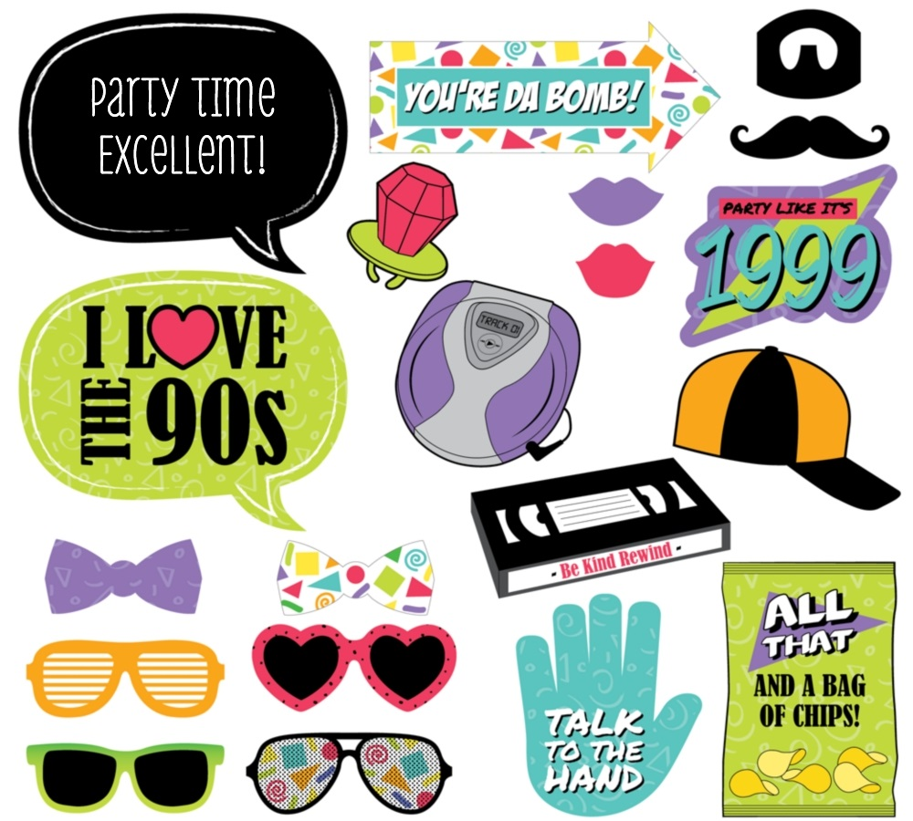 90s-throwback-party-photo-booth-props-kit-gen-alt-1